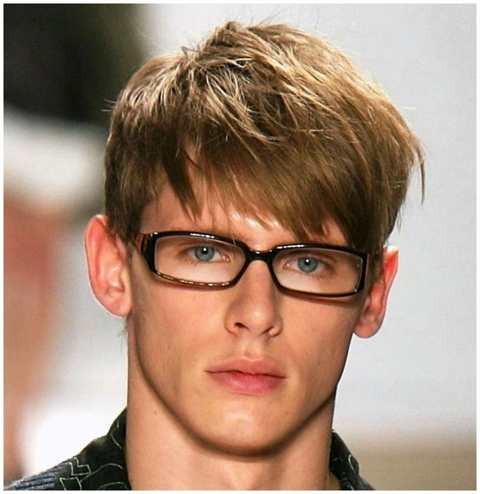 The Rise Of Men's Bangs Haircuts and Other Hairstyles