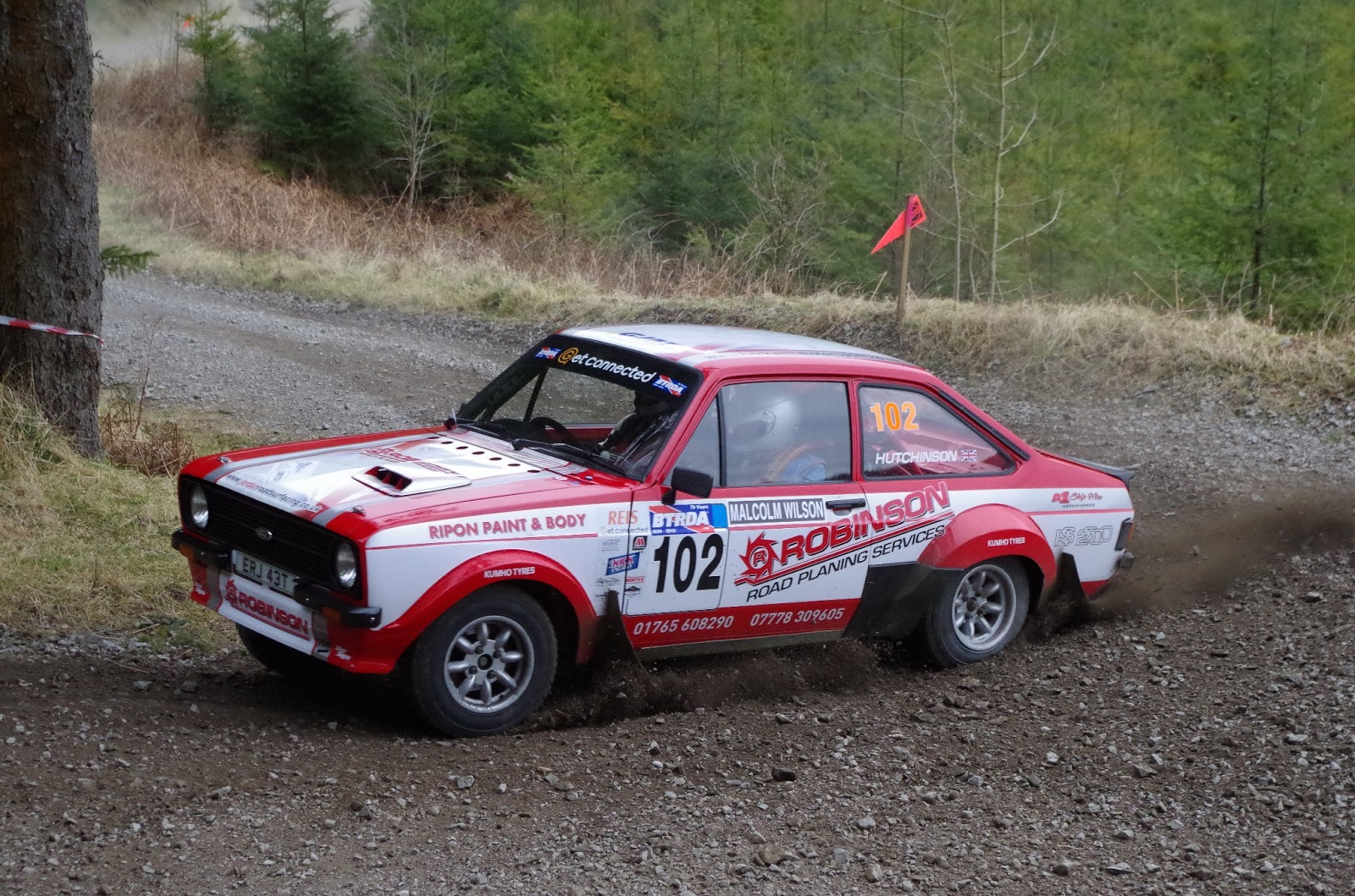 Malcolm Wilson Rally: Escort Mk2 Images   Caution Don\'t Cut