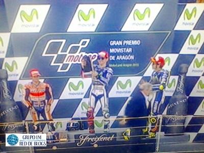 Podio Moto GP