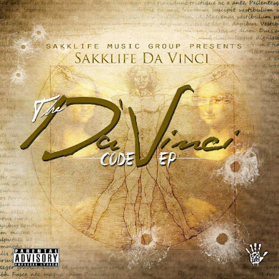 "Sakklife DaVinci - ""The DaVinci Code"" EP / www.hiphopondeck.com"