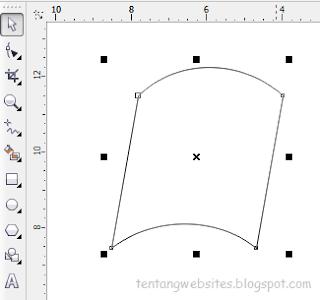 Contoh cara buat logo dengan corelDraw