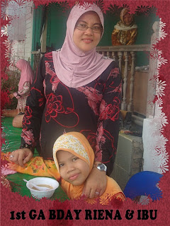 GA Contest 1st GA Bday Riena & Ibu...