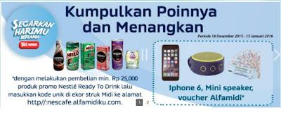 Info Undian - Undian Nescafe Berhadiah Iphone, Speaker Logitech dan Ratusan Voucher Belanja
