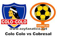 Colo Colo vs Cobreloa 2012