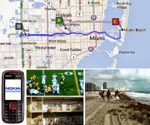 Route Miami Beach