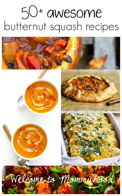 50+ awesome butternut squash recipes! Ideas for every meal of the day and even drinks, too! #butternutsquashrecipes, #butternutsquash, #healthyrecipes