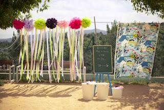 Blog de bodas yo dire que si diy tutorial para hacer - Photocall boda casero ...