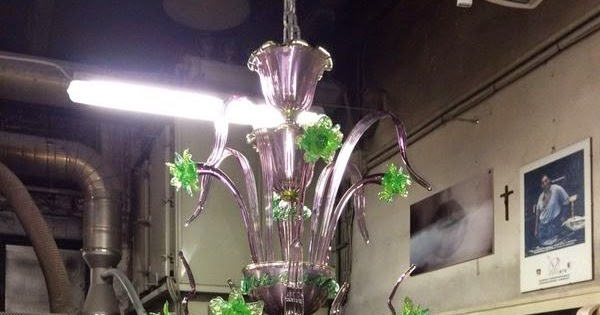 Lovely Lampadari in vetro di Murano Murano Blown Glass Chandelier Lustre en verre de Murano Chandelier in artistic Murano glass Princess Sophia Green Vetro