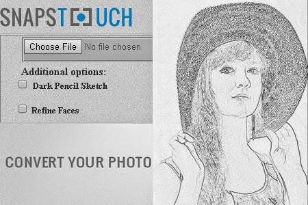 Situs Untuk Merubah Foto Jadi Sketsa Pensil Online