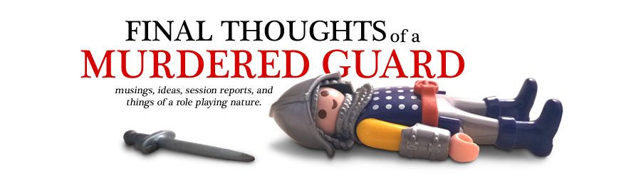 Final Thoughts of a Murdered Guard
