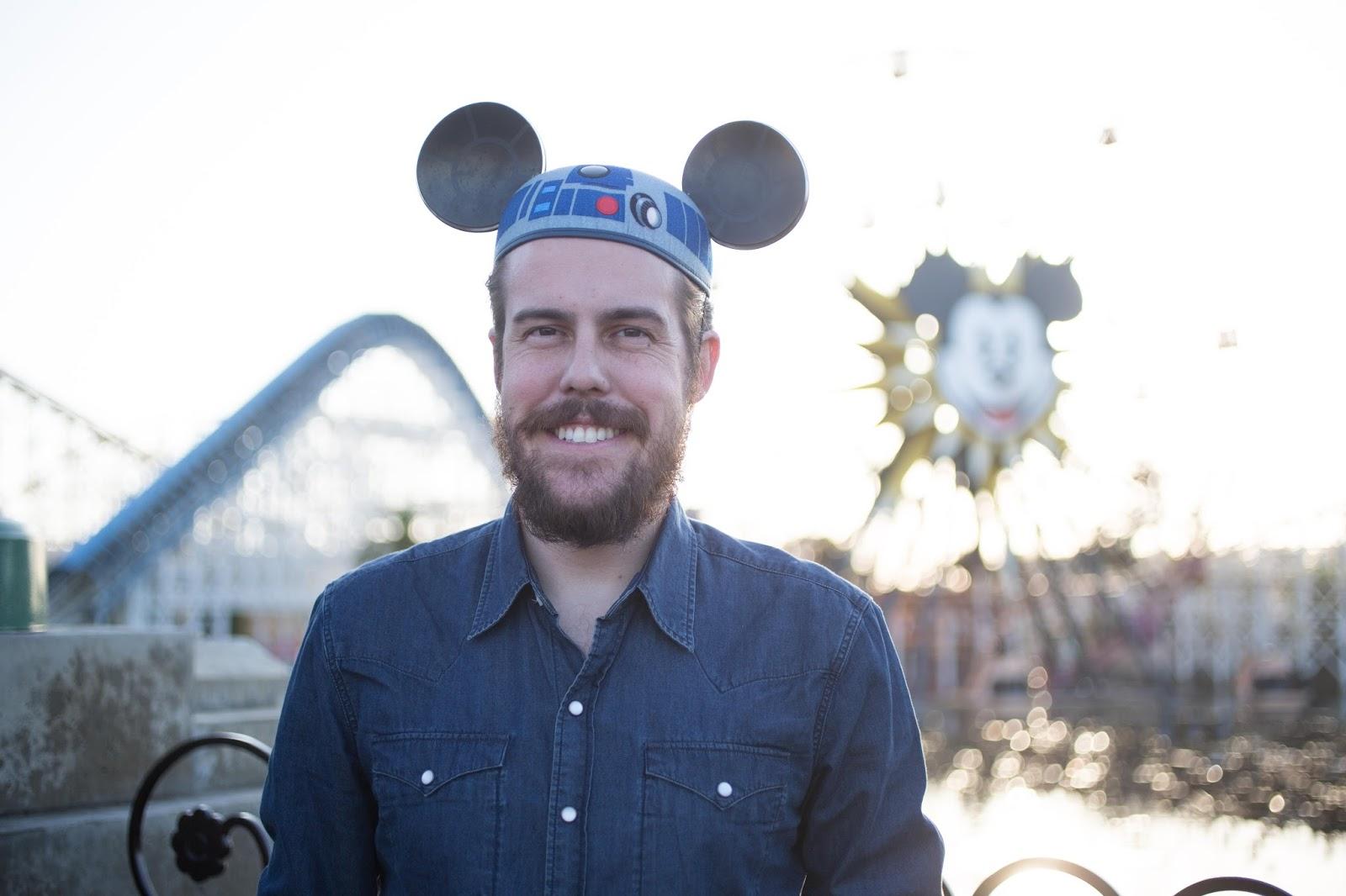 R2D2 Mickey Mouse Ears