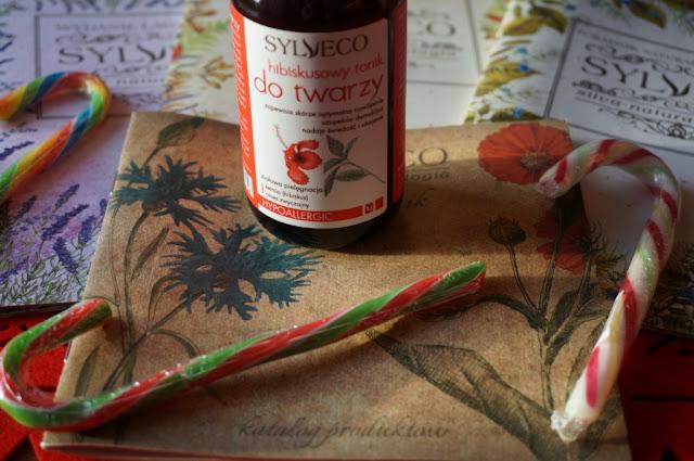 Ziołowa pielęgnacja twarzy - hibiskusowy tonik Sylveco
