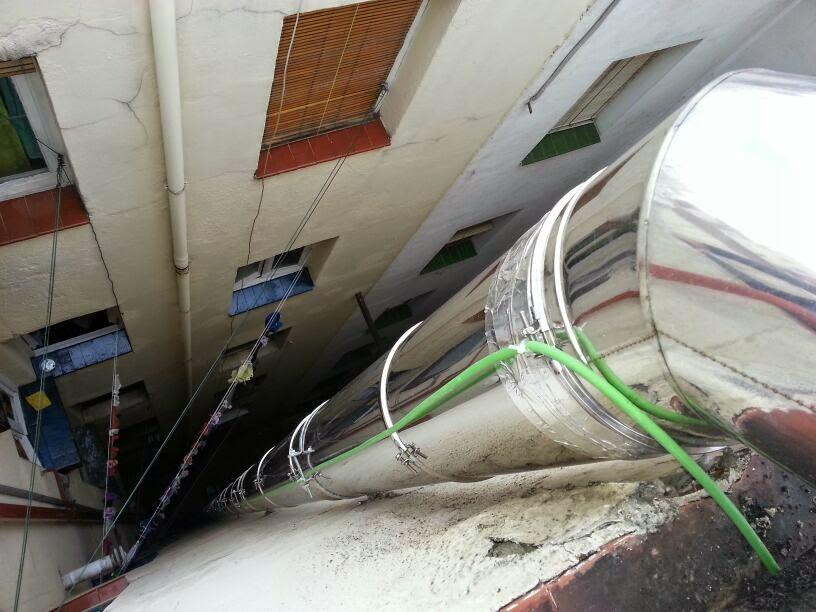 Reformas conductos ventilaci n madrid chimeneas y salida - Tubos para salida humos cocina ...