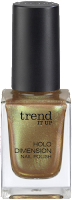 Preview: Die neue dm-Marke trend IT UP - Holo Dimension Nail Polish 040 - www.annitschkasblog.de