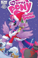 MLP Holiday Special 2015 Comic by IDW Books a Million Cover by Katie Cook
