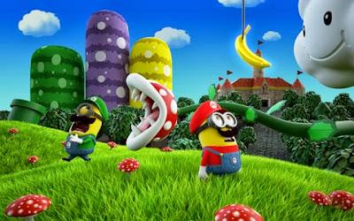 Mario y Luigi Minions