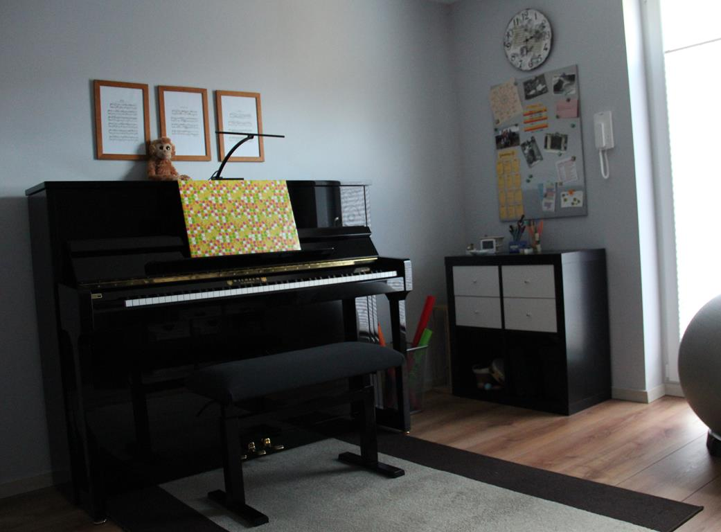 Unser Klavierzimmer