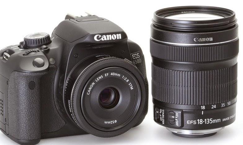 Kamera CANON EOS 650D murah