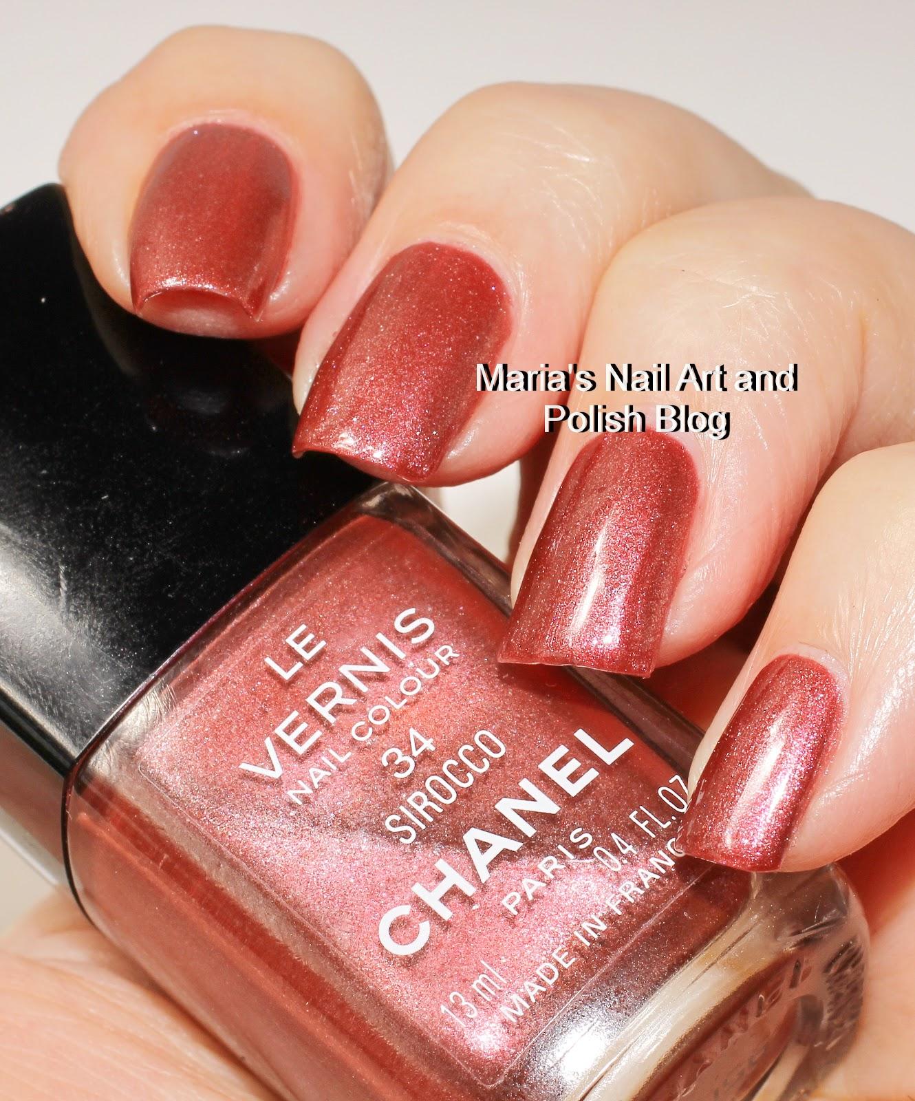 Marias nail art and polish blog chanel sirocco 34 2000 chanel sirocco 34 2000 prinsesfo Choice Image