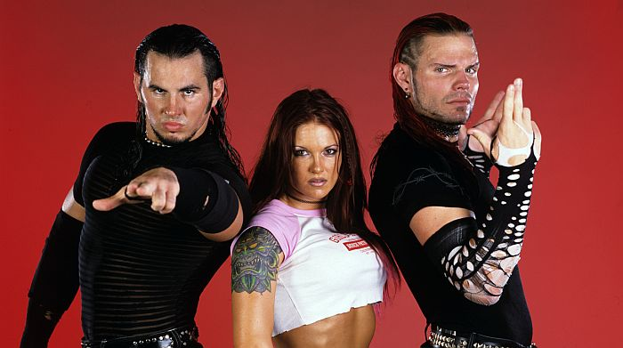 Lita Matt Jeff Hardy Boyz Diva Tag Team Attitude Era Faction