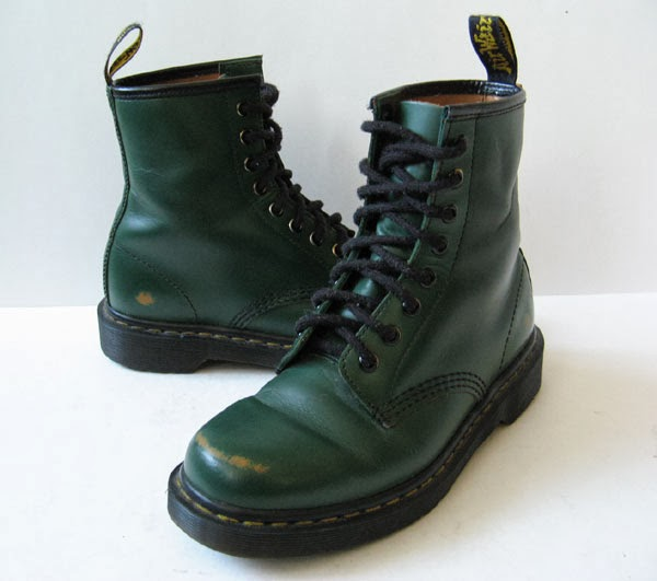 closet dr martens doc martens green leather ankle