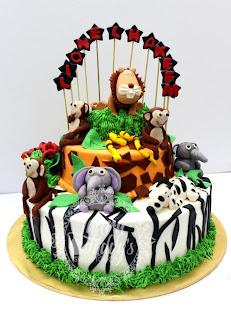 LIONEL HAKEEM's 1st BIRTHDAY CAKE