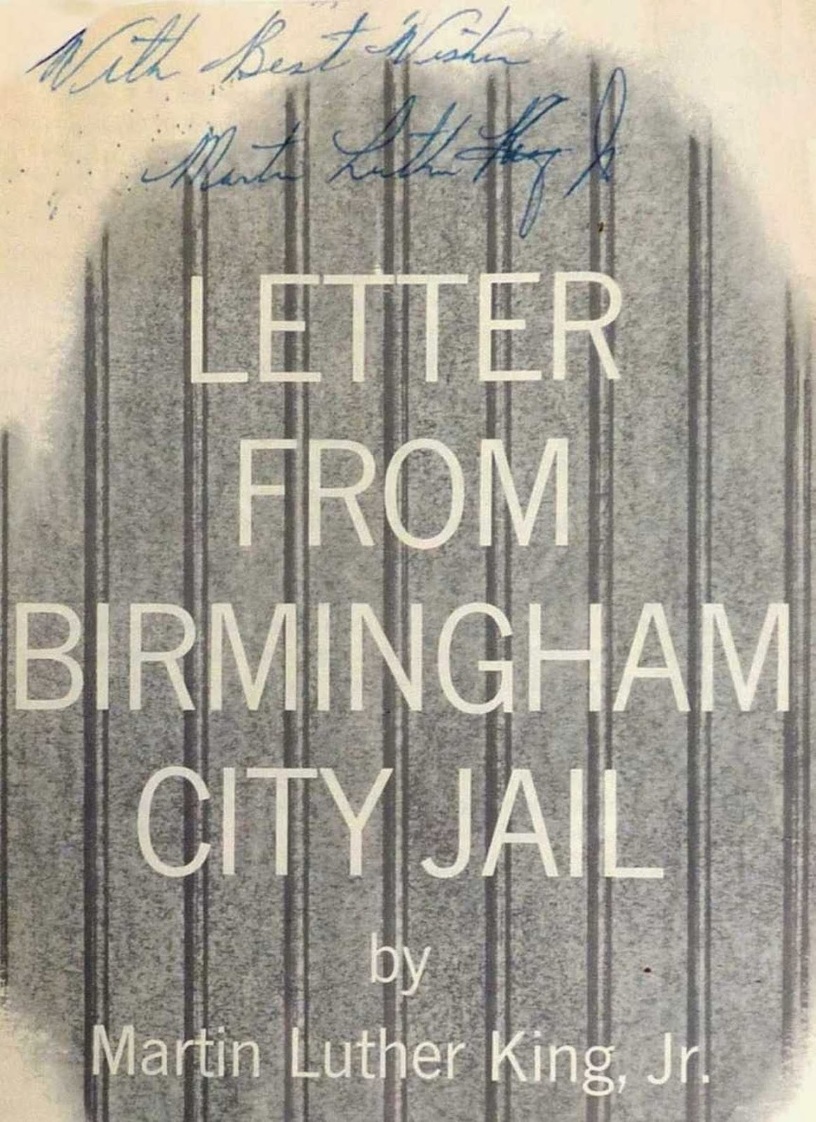 letter from birmingham jail soaps Share your dream now and visit the king center digital archive to see more than  10000 documents from martin luther king's personal collection and from the.