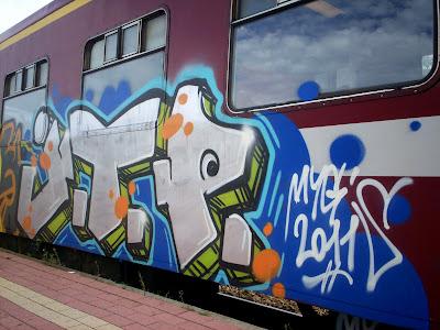 MYGS graffiti