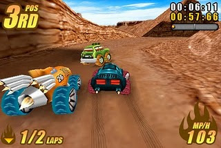 Burning Tires 3D - Jogos Java