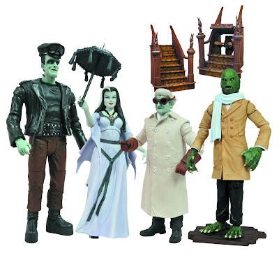 Diamond Select The Munsters Series 3 figures