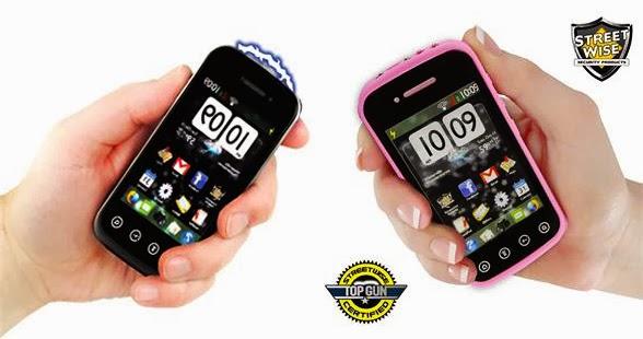 smartphone stun gun streetwise