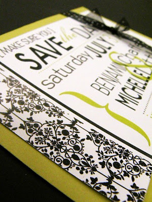 save the date postcard printed by GotPrint