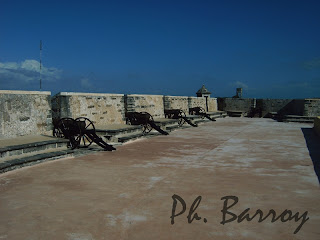 paysage du Mexique Campeche Yucatan fort San Miguel blog voyage photos