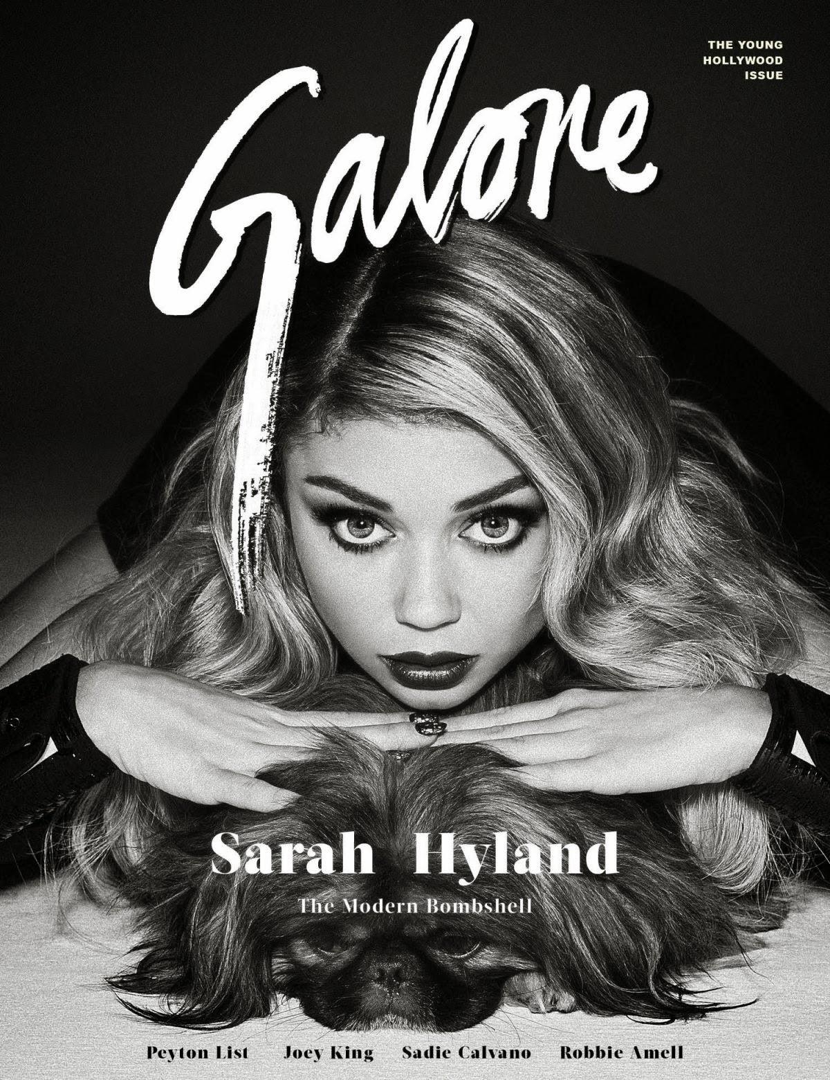 Actress: Sarah Hyland for Galore Magazine