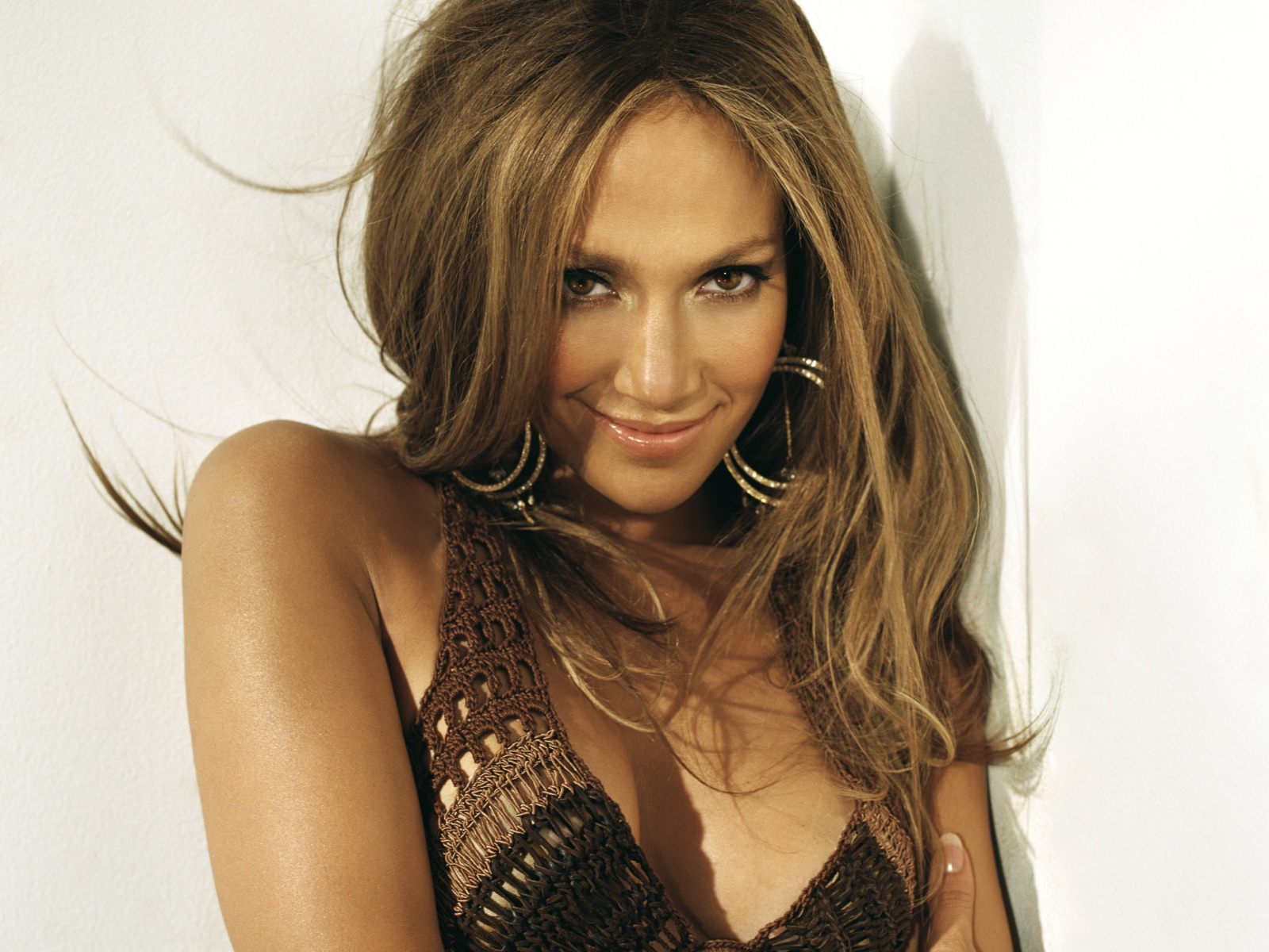 Jennifer Lopez Smiling