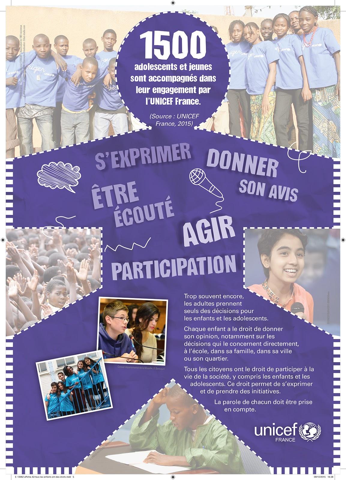 Préférence Comité de l'Isère pour l'UNICEF: Journée Internationale des Droits  MM53