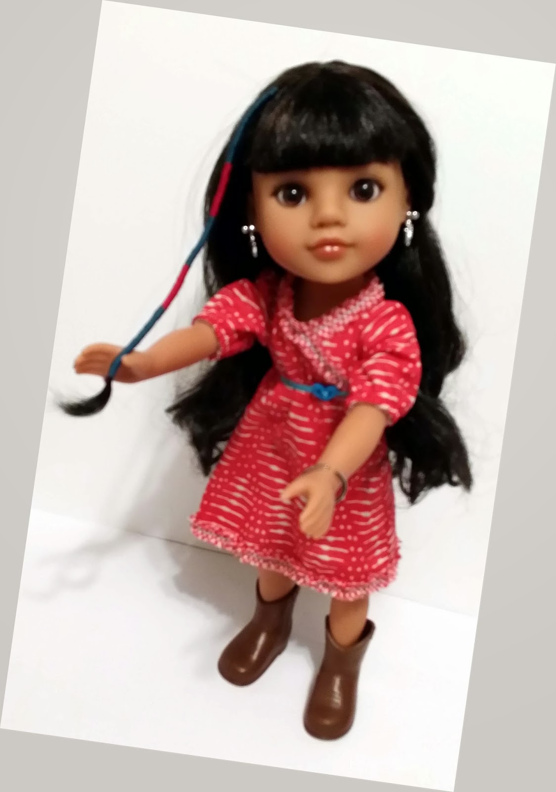 Mosi with hair twist, heart4heart doll