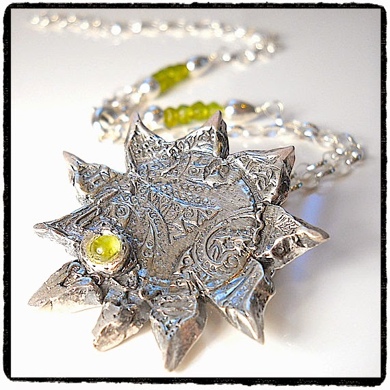 Italian Sun, August Birthstone - Peridot Necklace