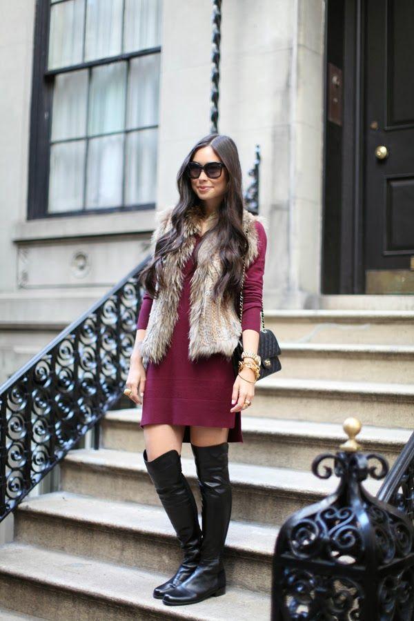 Divinos chalecos de piel a la moda | Belleza y Tendencias