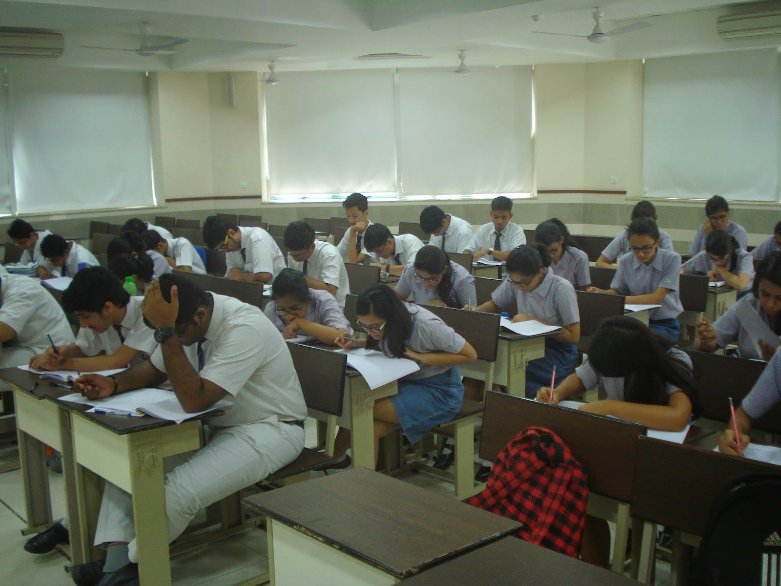 Career Guidance Aptitude Testing at Hiranandani Foundation School Thane