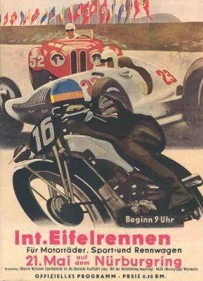 Posterul Eifelrennen