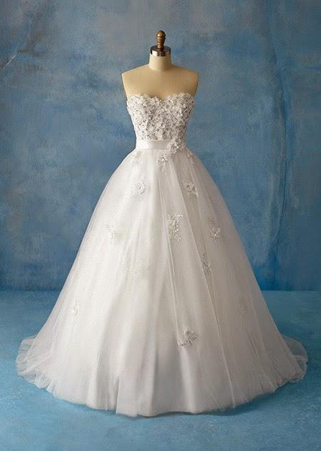 Vestidos novia disney alfred angelo