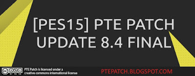 Download PTE Patch Update 8.4 for PES 2015