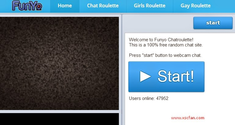 start chat roulette on funyo