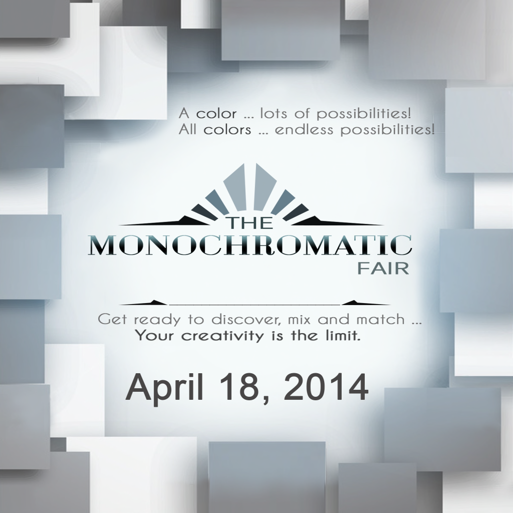 MONOCHROM Fair starts on 4.18