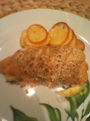 filetti di salmone gratinati
