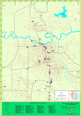 Peta Wisata Kota Pekanbaru