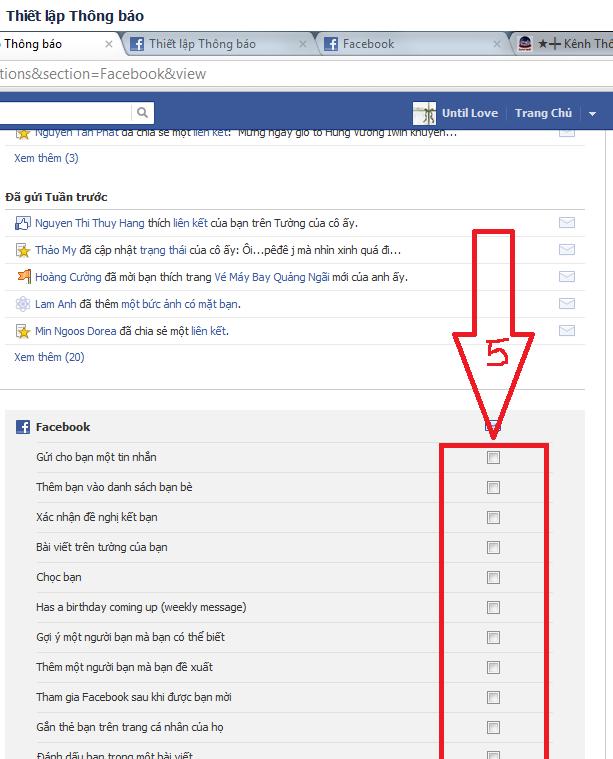 Cách chặn Facebook gửi mail thông báo cho bạn 4