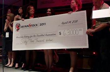 Money raised at Winnstock Rocks 2011