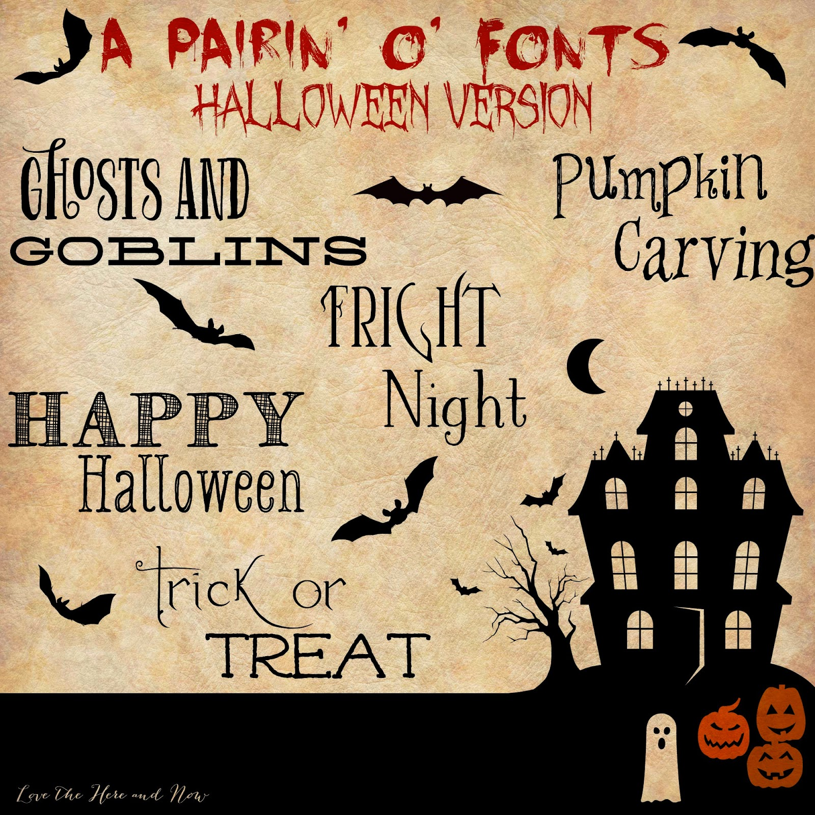 click here for Halloween fonts